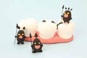虫歯,殺菌作用,歯磨き,
